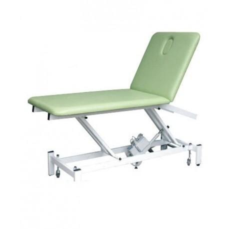 Table de massage electrique CHYPRE 2 plans avec dossier proclive/déclive