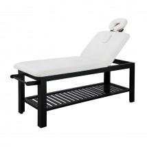 Table fixe en bois soin esthétique et massage