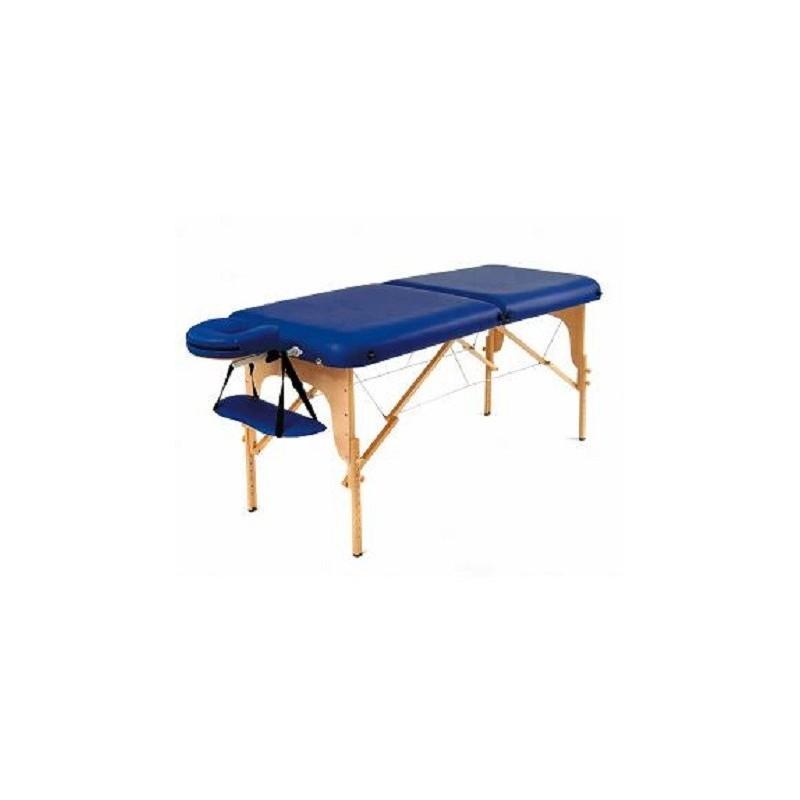 Biovital table de massage en bois robusta sissel - Table de massage pliante legere ...