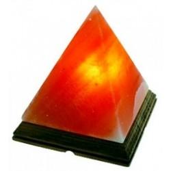 Lampe en Cristal de Sel - Pyramide